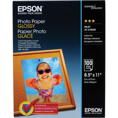 Epson Photo Paper Glossy (8.5 x 11