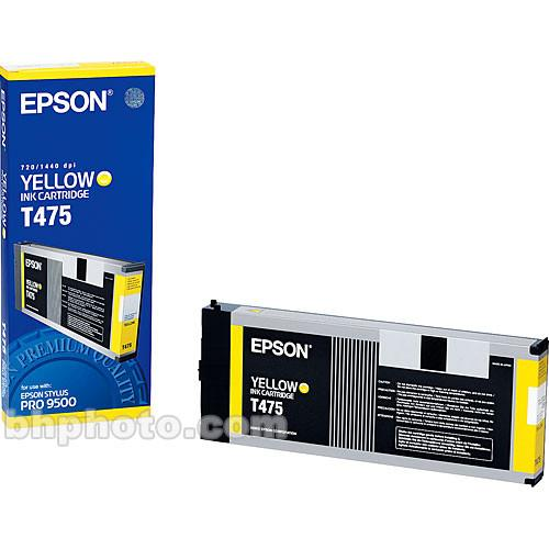 Epson  Yellow Cartridge T475011