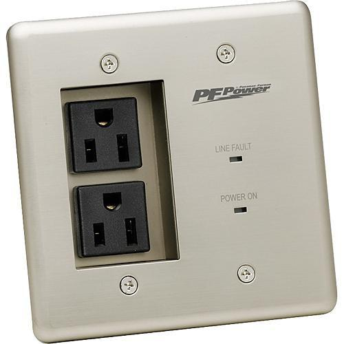 Furman  MIW 2-Outlet Faceplate MIW-POWER-PRO-PFP
