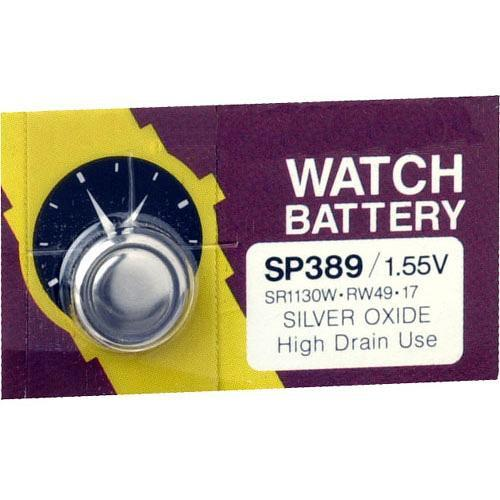 General Brand SP389 1.5V Silver Oxide Battery SR1130