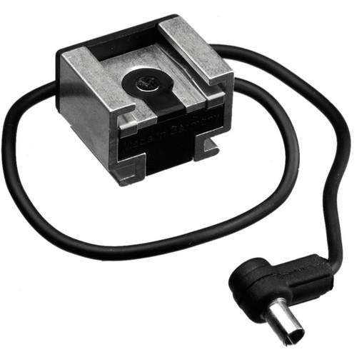 Hama Hot Shoe Adapter 2 - Hot Shoe with PC (Male) Sync HA-6952
