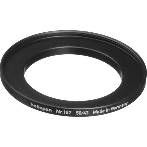 Heliopan  43-58mm Step-Up Ring (#187) 700187
