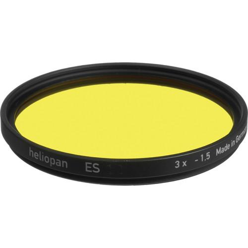 Heliopan Bay 1 Medium-Yellow #8 Glass Filter for Black 710003