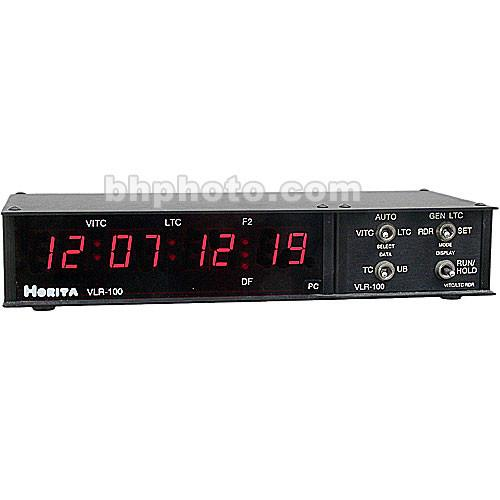 Horita VLR-100PC Time Code Read/Gen/Display RS-232 VLR-100 PC