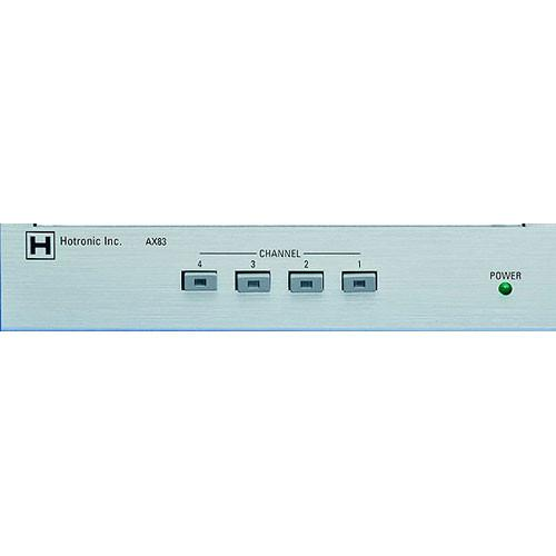 Hotronic AX-83Q 4x1 Video Router / Quad Processor AX83Q-A