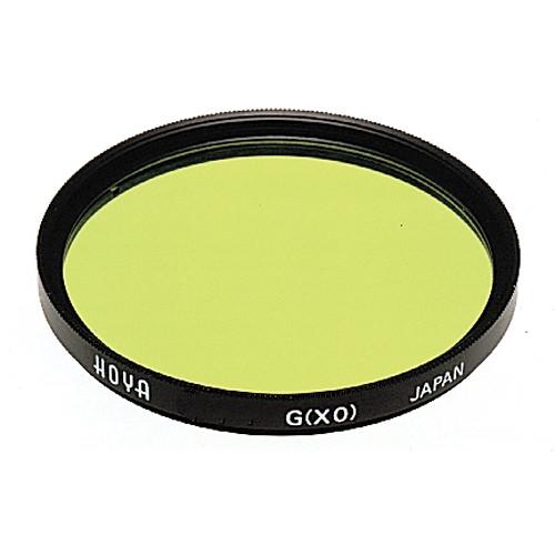 Hoya 52mm Yellow-Green #XO Hoya Multi-Coated (HMC) A-52GRX0-GB