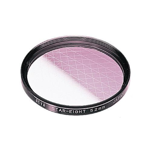 Hoya 55mm (8 Point) Star Effect Glass Filter S-55STAR8-GB