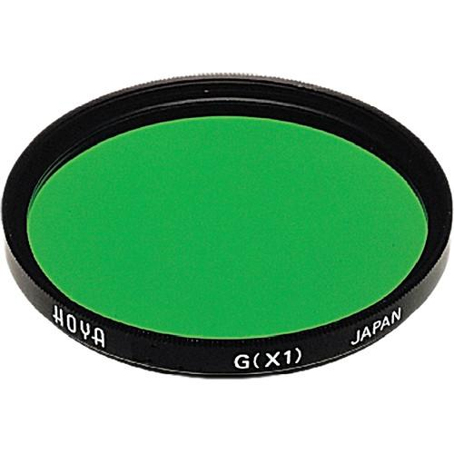 Hoya 58mm Green X1 (HMC) Multi-Coated Glass Filter A-58GRX1-GB