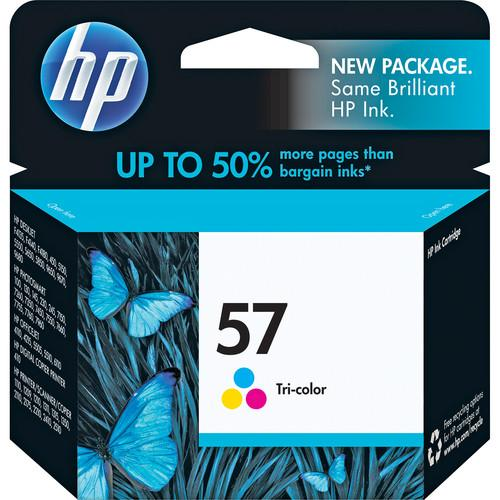 HP HP 57 Tri-Color Inkjet Print Cartridge (17ml) C6657AN#140