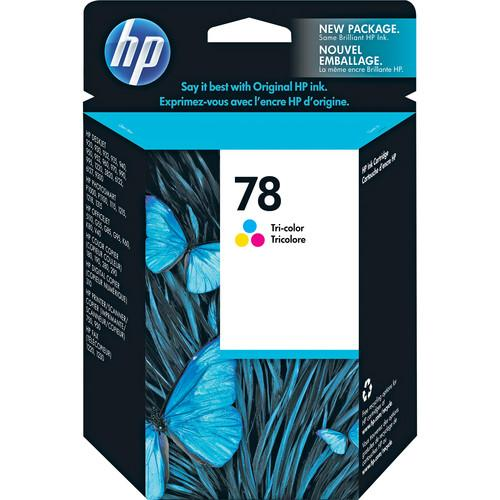 HP HP 78 Tri-Color Inkjet Print Cartridge C6578DN#140