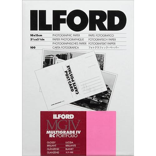 Ilford Multigrade IV RC Portfolio Post Card Size Black 1171202