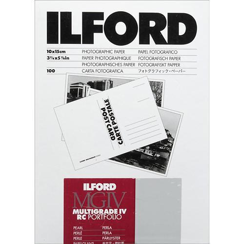 Ilford Multigrade IV RC Portfolio Post Card Size Black 1171299