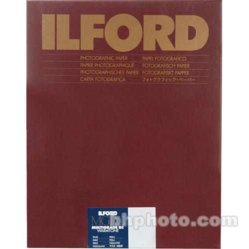 Ilford Multigrade Warmtone Resin Coated Paper 1902550
