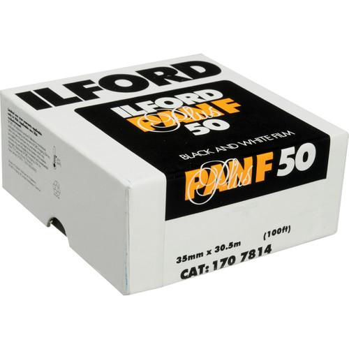 Ilford Pan F Plus Black and White Negative Film 1707814