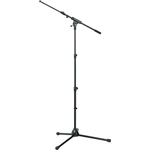K&M 252 Microphone Stand with Boom Arm (Black) 25200-500-55