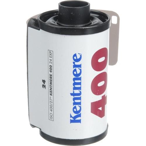 Kentmere 400 ASA Black and White Negative Film 6012379