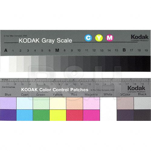 Kodak Color Separation Guide and Gray Scale 1527654