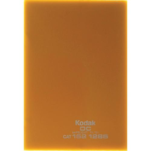 Kodak #OC Light Amber Safelight Filter 3.25x4.75