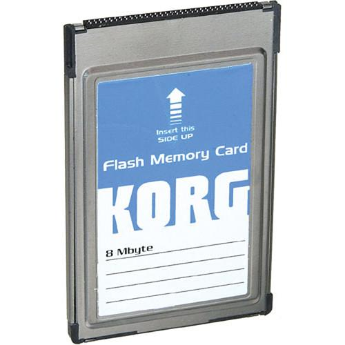 Korg  FMC-8MB - Flash ROM Card FMC8MB
