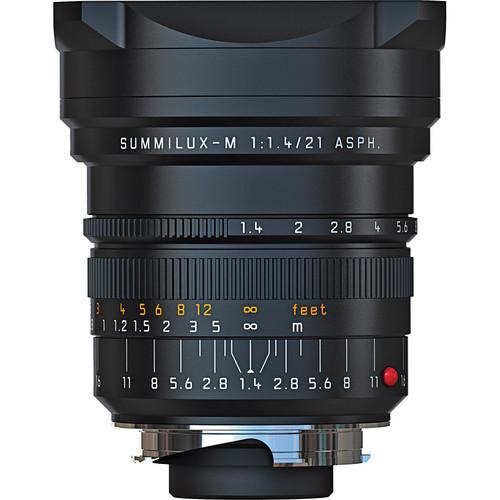 Leica 21mm f/1.4 Summilux-M Aspherical Manual Focus Lens 11-647