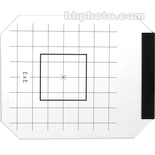 Linhof  Focusing Screen with 3x3cm 21833