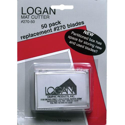 Logan Graphics  Blades #270 - 50 Pieces 270-50
