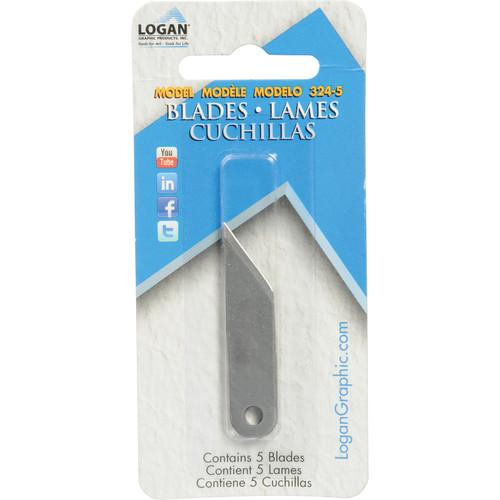 Logan Graphics  Blades #324 - 5 Blades 324-5