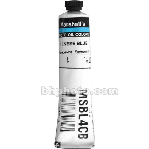 Marshall Retouching Oil Color Paint: Chinese Blue - MS4CB