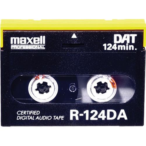 Maxell R-125DA 125 Minute Digital Audio Tape 182114