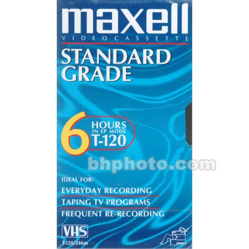 Maxell  T-120 VHS Video Cassette 214016