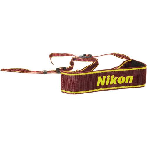 Nikon  AN-6W Nylon Wide Neck Strap (Wine) 4508