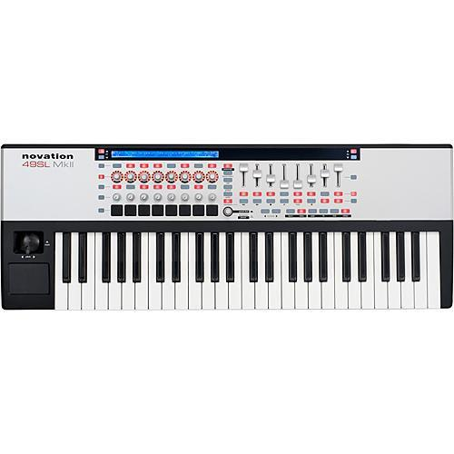 Novation 49 SL MkII 49-Key Remote MIDI Controller 49-SLMKII