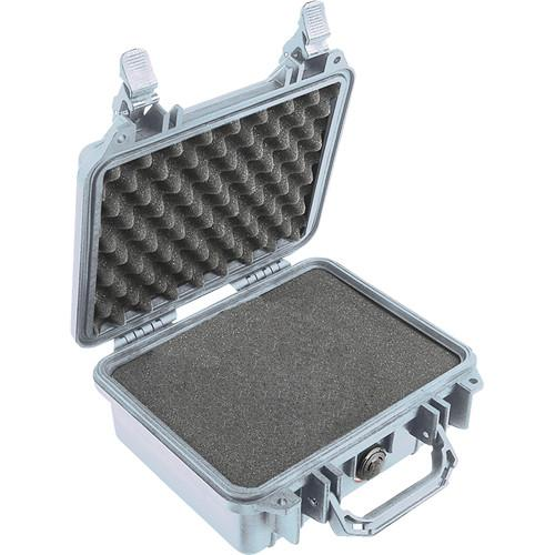 Pelican 1200 Case with Foam (Silver) 1200-000-180