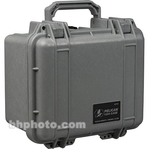 Pelican 1300 Case without Foam (Silver) 1300-001-180