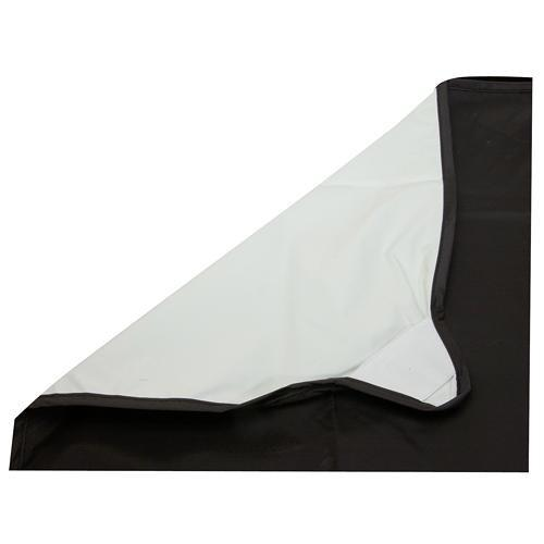 Photoflex Fabric for LitePanel Frame, White/Black LP-3939WB