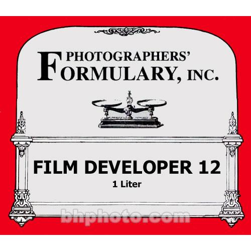 Photographers' Formulary #12 Developer for Black & 01-0210