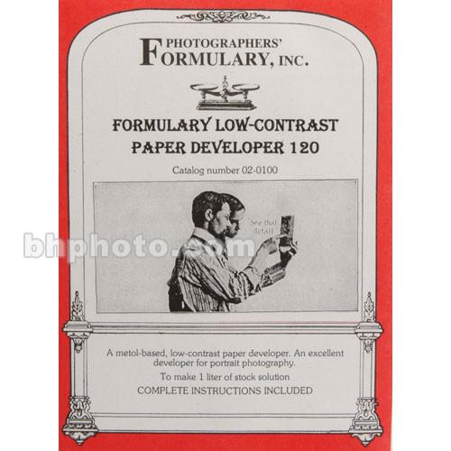 Photographers' Formulary 120 Developer for Black & 02-0100