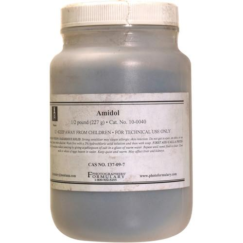 Photographers' Formulary Amidol - 1/2 Lb 10-0040 1/2 LB.