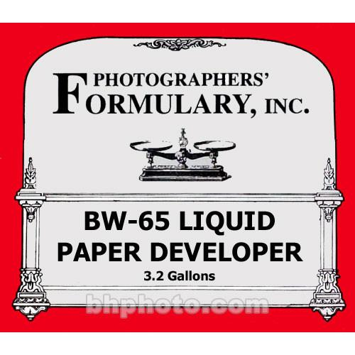Photographers' Formulary BW-65 Developer for Black & 02-0067