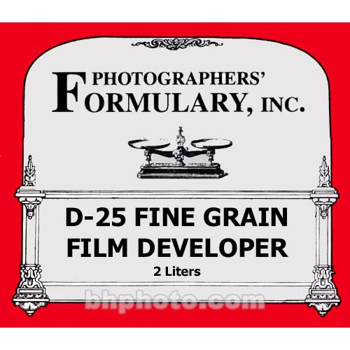 Photographers' Formulary D-25 Developer for Black & 01-0054