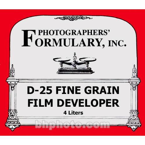 Photographers' Formulary D-25 Developer for Black & 01-0055
