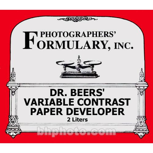 Photographers' Formulary Dr. Beer's Developer for Black 02-0120