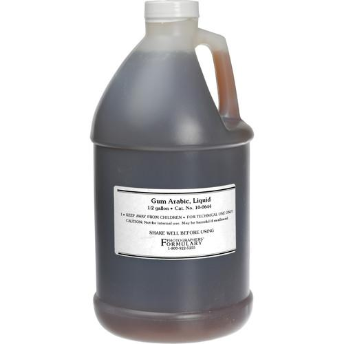Photographers' Formulary Gum Arabic (Liquid) - 10-0644 .5 GAL