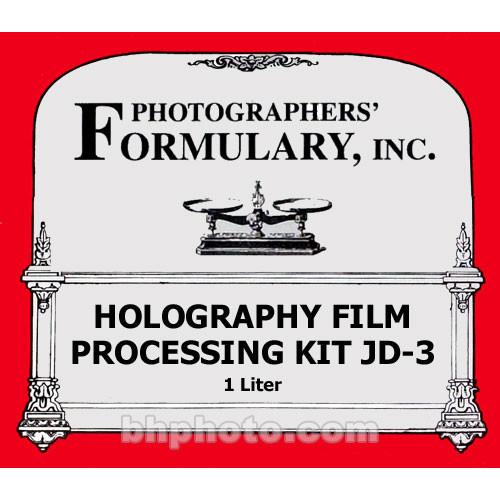 Photographers' Formulary JD-3 Holography Processing Kit 04-3020