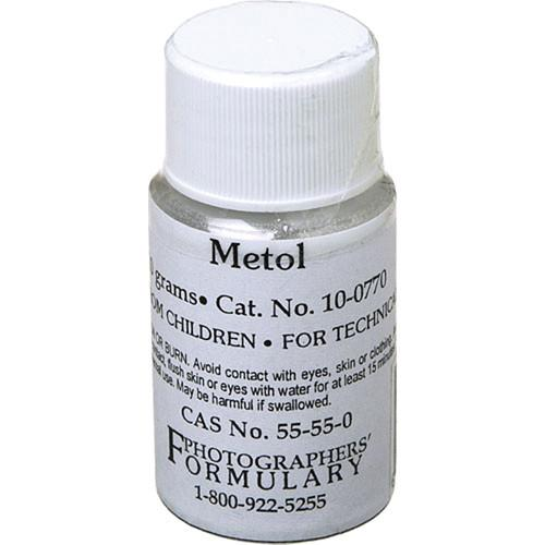 Photographers' Formulary Metol (Elon) - 10g 10-0770 10G