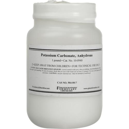 Photographers' Formulary Potassium Carbonate 10-0940 1LB