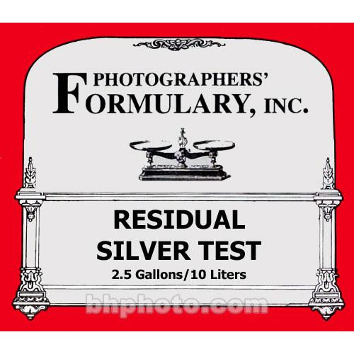 Photographers' Formulary Residual Silver Test - 2.5 03-0170