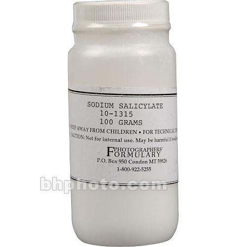 Photographers' Formulary Sodium Salicylate - 100g 10-1315 100G