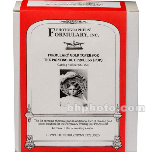Photographers' Formulary Toner (Printing-Out-Paper) 06-0220
