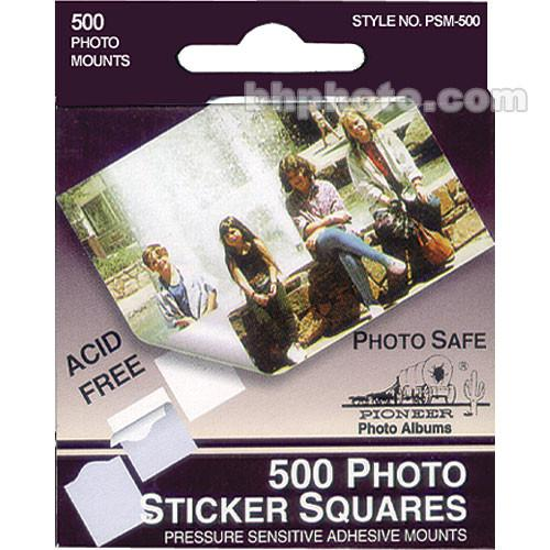 Pioneer Photo Albums Photo Mounting Squares (Box of 500) PSM500